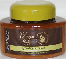 3 X Hydratant Masque Capillaire 220ml avec Huile D'Argan Marocaine Extrait