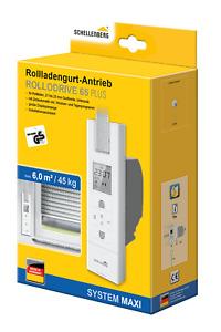Schellenberg Elektrischer Gurtwickler Rollo Drive 65 Plus max. 45 Kg