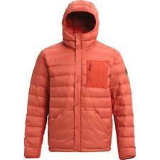 BURTON SNOW Men's EVERGREEN Down Insulator Jacket - Large - HotSauce/Bitter NWT