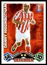 Match Attax 2009-10 Danny Higginbotham Stoke No. 256