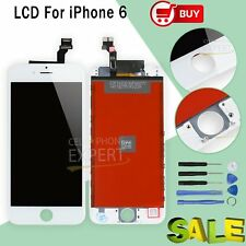"""Replacement White For Apple iPhone 6 4.7"""" LCD Touch Screen Digitizer Display UK"""