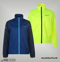 Mens Muddyfox Mesh Lining Full Zip Reflective Cycle Jacket Sizes from S to XXXL