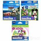 New VTech InnoTab Mickey Mouse Clubhouse Minnie Or Cars 2 Games Disney Official