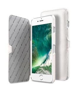 "Melkco Premium Leather Case for Apple iPhone 8 / 7 (4.7"")  Booka Type WHITE H129"