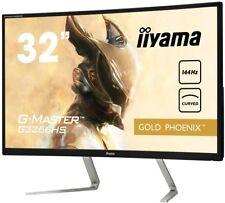 "Iiyama G-master G3266hs-b1 31.5"" Full HD va Matt Black Curved Computer Monitor"