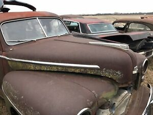 Hood 1946-1948 Ford Super Deluxe 4 Door Sedan -Parting Out Car - Free Shipping