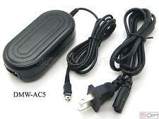 AC Adapter For DMW-AC5 Panasonic DMC-FX9 DMC-FX10 DMC-FX12 DMC-FX30 DMX-FX33
