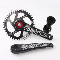 7075 Aluminum Crankset 170mm Crank Chainring MTB Mountain Bike BB Crank set GXP