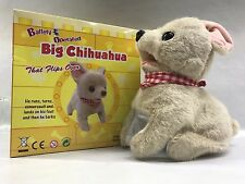 """Chihuahua Big Puppy Flip Over Battery Operated 8"""" SK-8830"""