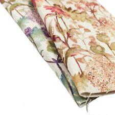 Linen Floral Drapery Craft Fabrics