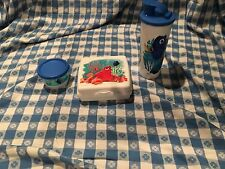 Tupperware Finding Dory Lunch Set Sandwich Keeper, Snack Cup & 16-oz. tumbler