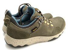 Teva Men's Arrowood Lux Olive Waterproof Leather Shoes Size 9
