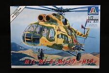 XX124 ITALERI 1/72 maquette helicoptere 021 MIL MI-8 / MI-17 Hip
