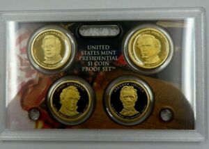2010 S Proof Presidential Dollar Set no Box or COA, FREE SHIPPING IN USA!!!