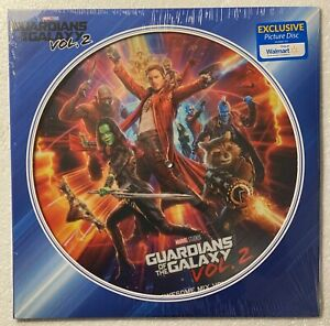 Guardians of the Galaxy Vol. 2 WM Exclusive PICTURE DISC Vinyl LP NEW SEALED