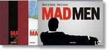 Matthew Weiner Weiner's Mad Men Taschen 2 Book Set Slipcase NEW SEALED FREE SHIP
