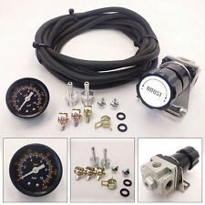 T2 UNIVERSAL ADJUSTABLE MANUAL GAUGE TURBO BOOST CONTROLLER 1-30 PSI BLACK