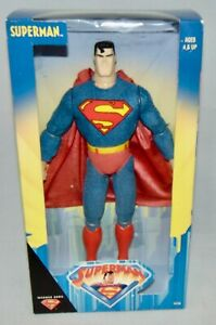 "New 1998 Hasbro Superman 12"" Superman Poseable Action Figure Sealed"