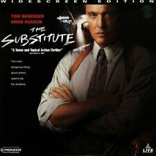 Laserdisc (THE SUBSTITUTE) - Tom Berenger - Pioneer