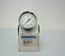 "Ashcroft 631008A02B-60# 2-1/2"" Dial 1/4"" Back Mount 60Psi Pressure Gauge New"