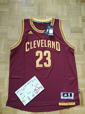 NWT LeBron James Cleveland Cavaliers Away Adidas Swingman Jersey Men XL