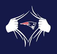 New England Patriots Superman Rip shirt Tom Brady GOAT Pats Belichick Gronk NE