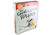 The Great Cheese Robbery and Other Stories Collection 10 Books & CDs Set | Tim W