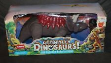 BOXED Vintage PLAYSKOOL Definitely Dinosaurs! FIGURES Brin & Triceratops