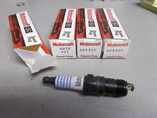 NEW Ford Motorcraft AWSF42C Spark Plugs, Lot of 4  *FREE SHIPPING*
