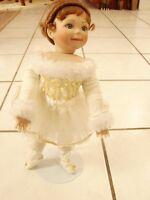 "Kathy Hippensteel ""My Little Ballerina"" Doll w/ stand no box 15.5""  Porcelain"