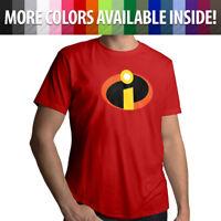 Disney The Incredibles Logo Symbol Costume Unisex Mens Tee Crew Neck T-Shirt