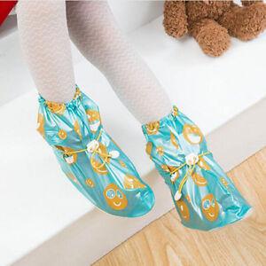 Children Waterproof Overshoes Anti-Slip Reusable Adjustable PVC Shoes Covers TR