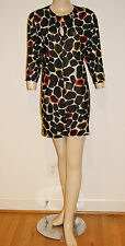 Authentic Vintage Couture 70's 80's Op Art Illusion Mini Dress by Missoni Sz Sm