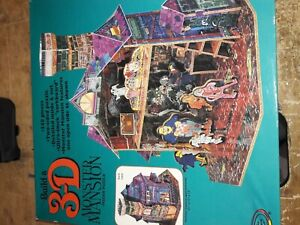 3-D Monster Mansion Puzzle - Used