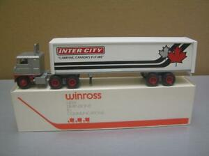 Winross 'Inter-City' Tractor Trailer Truck 1/64 scale made in USA Mint in Box