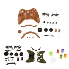 2 Pcs Wireless Controller Shell Full Button Housing Case Kits for XBox 360