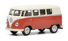 Schuco 1/64 Volkswagen T1 Bus red beige 452017100