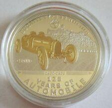 Palau 5 Dollars 2011 125 Jahre Automobil Bugatti Type 35 Silber