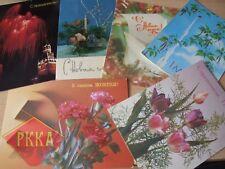 10 x Grusskarte UdSSR Sowjetische Postkarten Lenin Kommunismus Sowjet открытки