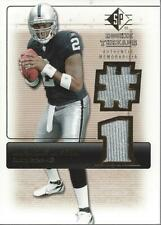 2007 SP Rookie Threads Rookie Threads Gold Patch #RTJR2 JaMarcus Russell Jersey