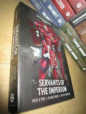 Nick Kyme ++ SERVANTS OF THE IMPERIUM 1st/PB MINT Warhammer 40K Anthology