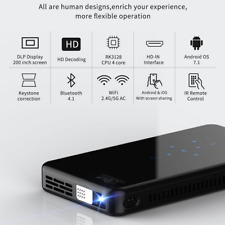 Mini Pocket 3000 Lumens Wifi Android Dlp Home Theater Projector Hd 1080P Hdmi in