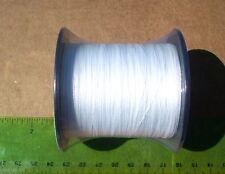 110yds (100m) WHITE SUPERLINE BRAID 30lb test Braided Fishing Line Bass Catfish
