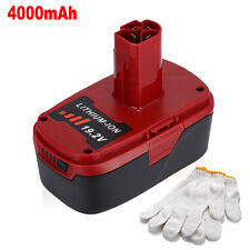 19.2V 4.0Ah XCP Lithium Ion Replacement Battery for Craftsman 11375 130279005 C3