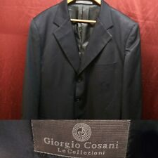 Giorgio Cosani Navy Blue Super 100's 100% Wool Blazer with defects