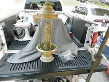 "Vintage Creators Inc Goddess Oil Rain Lamp Table Top 29"" Tall Parts Estate Find"