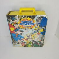 DC Super Powers Collection Vol.1 Action Figure Carrying Case Only Kenner 1984