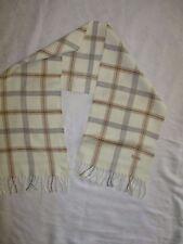 Écharpe en laine BURTON TBE frangée scarf  27 X 133 cm