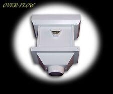 Aluminum Leader Head, Collector Box, Scupper Box, Conductor Head, Gutter Box
