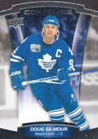 2015-16 Upper Deck Contours Hockey #96 Doug Gilmour Toronto Maple Leafs